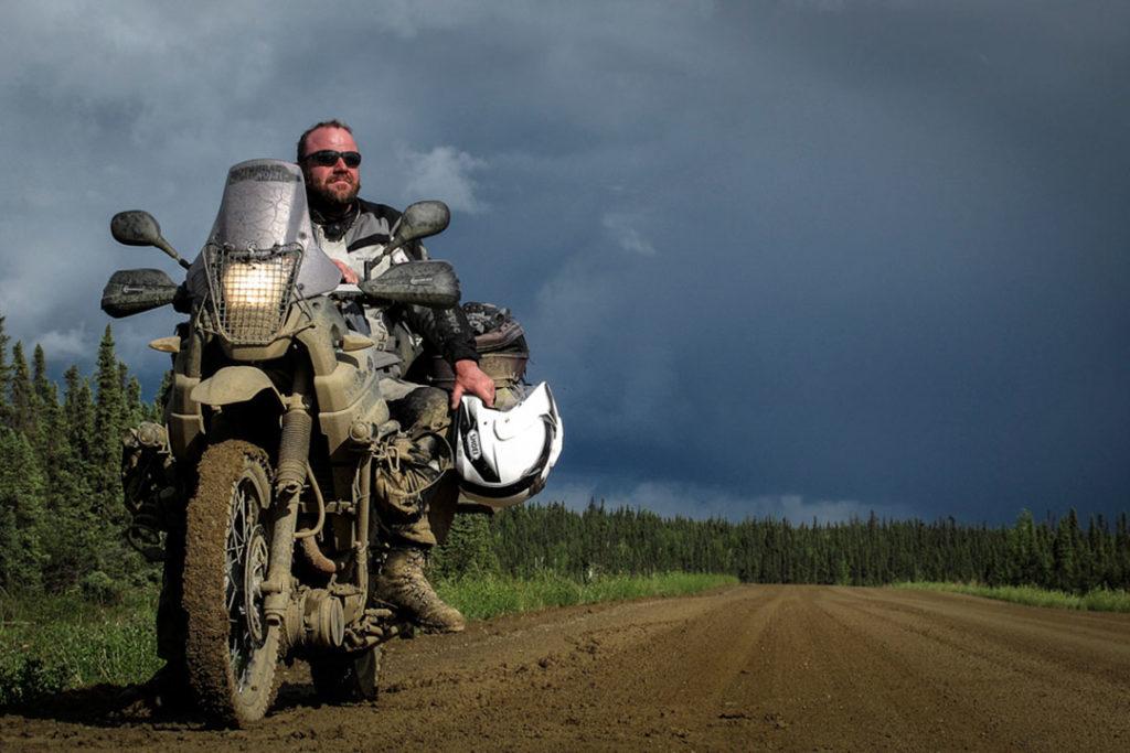 Live Multivision Erik Peters: Mit dem Motorrad von Alaska durch Kanada bis New York