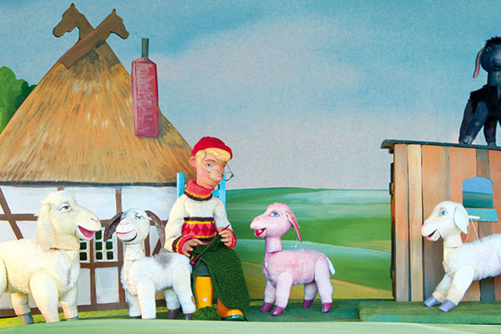 OpenAir-Kindertheater zum Weltkindertag: Hohenloher Figurentheater für Kinder: Schaf Ahoi